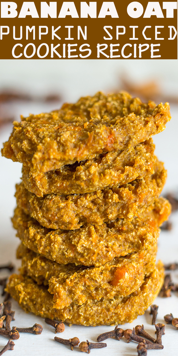 BANANA OAT PUMPKIN SPICED COOKIES RECIPE #BANANA #OAT #PUMPKIN #SPICED #COOKIES #RECIPE #dessert #pie #BANANAOATPUMPKINSPICEDCOOKIESRECIPE