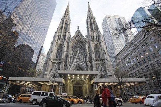 NYPD Arrested A Man With Gas Cans Walking Into St. Patrick's Cathedral