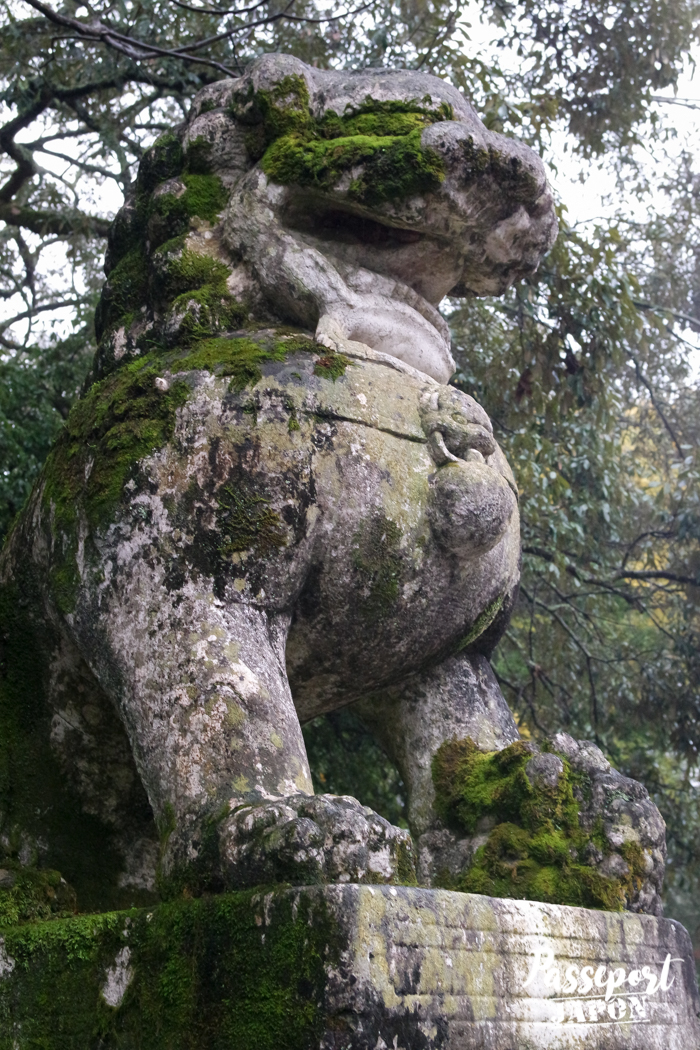 Komainu, sanctuaire Usa-jingû, Oita