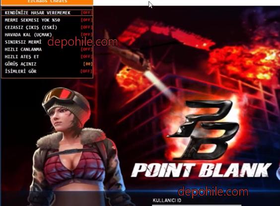 PointBlank TR EzChaos Havada Yürüme, Wallhack Hilesi 2021
