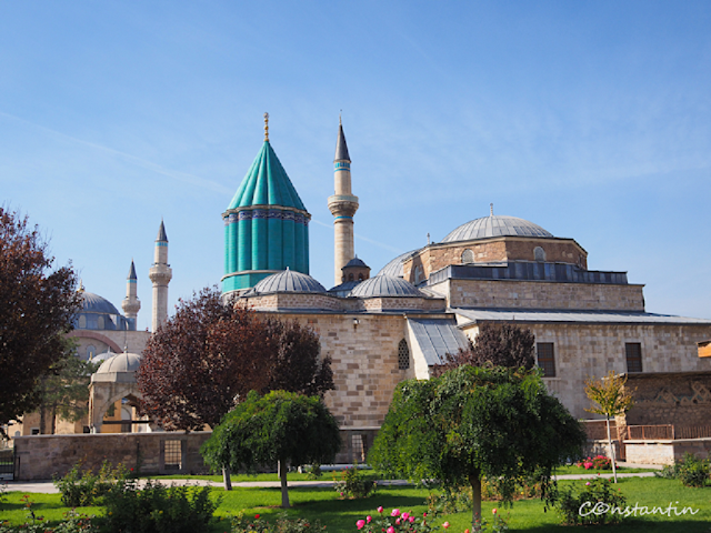 Konya - Mausoleul lui Mevlana Celaleddin Rumi-blog-FOTO-IDEEA
