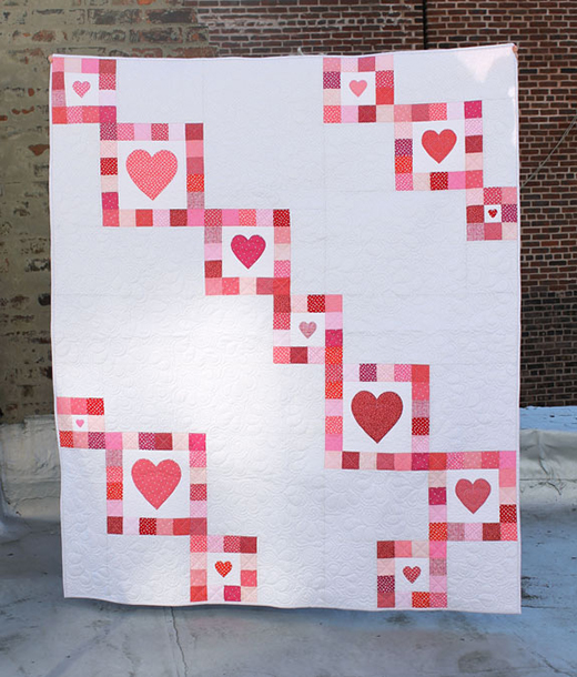 Love in Chains Quilt Free Pattern