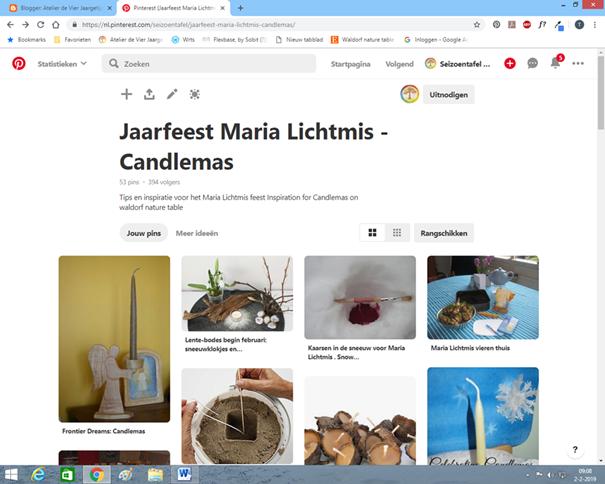 Tips en inspiratie voor Maria Lichtmis op de seizoentafel