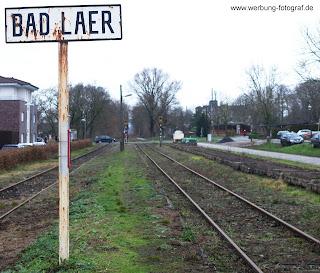 Bahnschienen Bad Laer