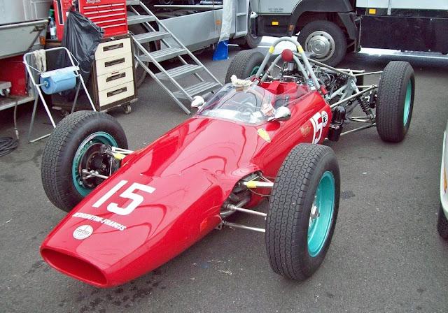 ATS Tipo 100 1960s Italian classic F1 car