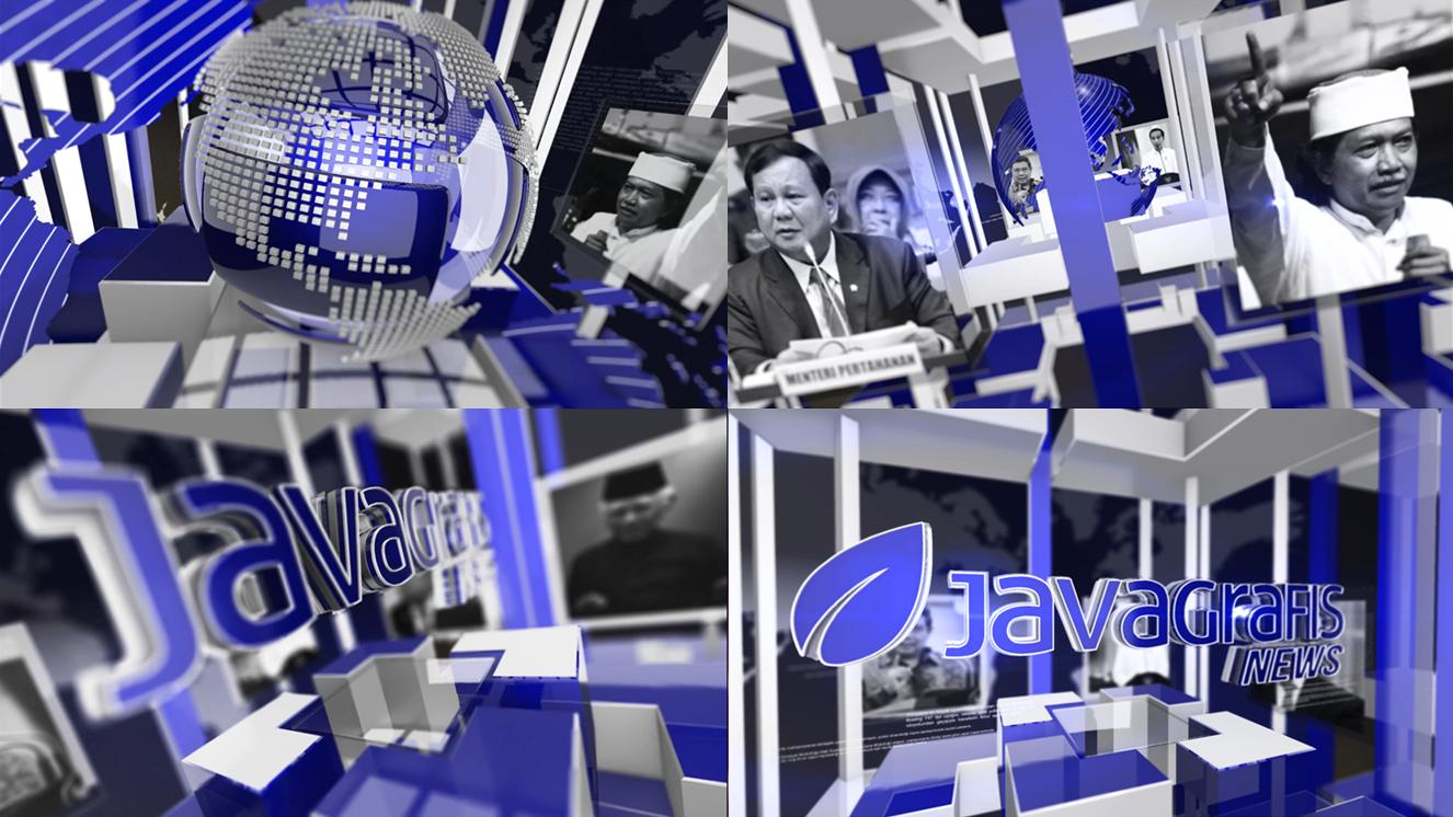 Jasa Pembuatan Bumper Video 3D News 2 Java Grafis After Effect