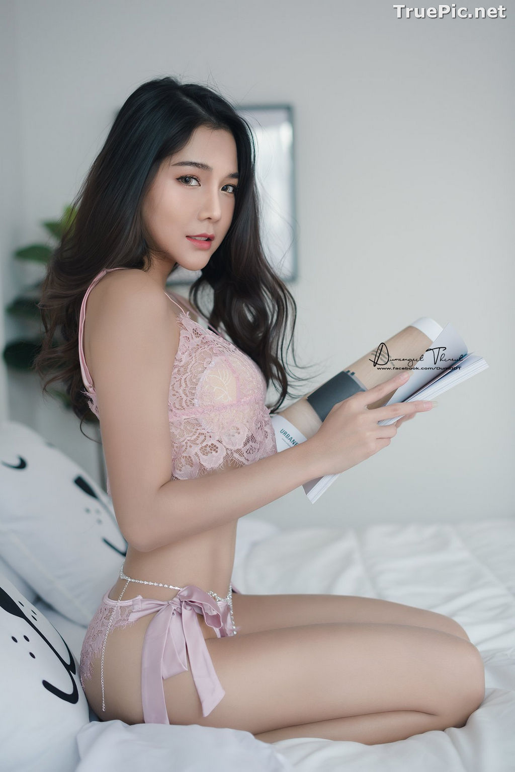 Image Thailand Model - Phitchamol Srijantanet - Beautiful Angel and Lingerie - TruePic.net - Picture-4