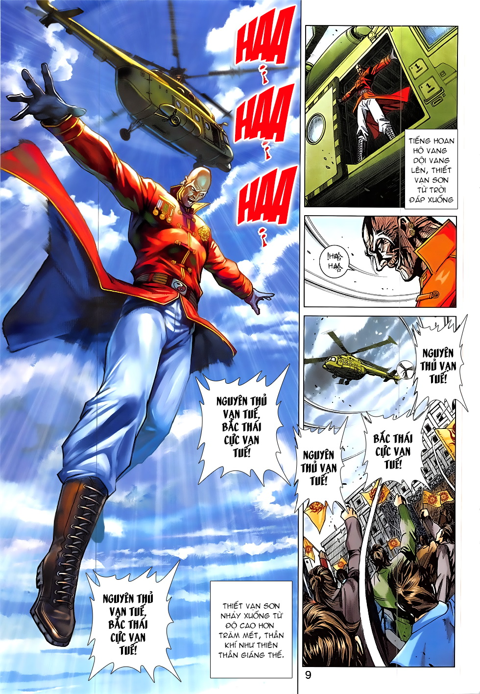 Tân Tác Long Hổ Môn Chap 837 page 9 - Truyentranhaz.net
