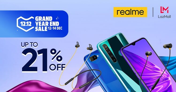Realme Buds 2, Realme Buds Wireless to Launch at Lazada 12.12