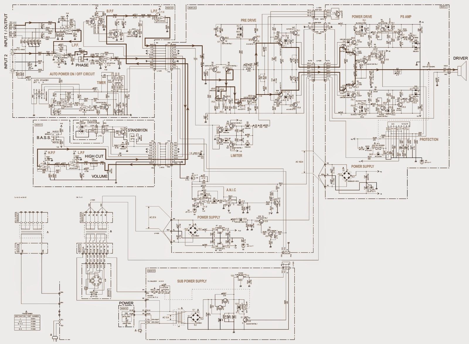 yamaha 80cc atv wiring schematics yamaha yst-sw315 - sub-woofer - schematic diagram ... #8