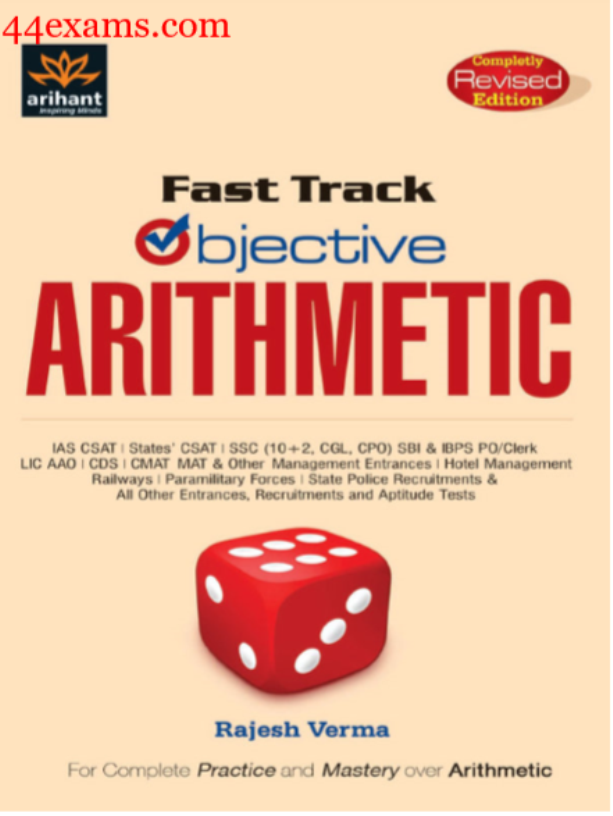 Arihant-Fast-Track-Objective-Arithmetic-For-All-Competitive-Exam-PDF-Book