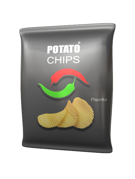 potato chips mock-up idea one