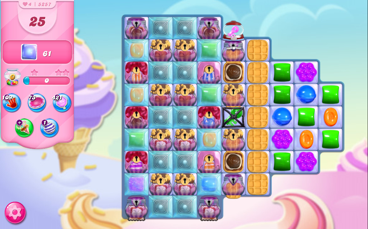 Candy Crush Saga level 5257