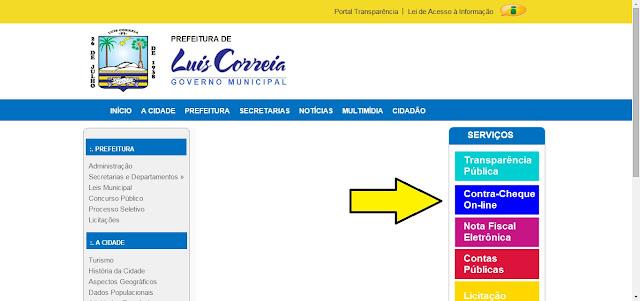 Resultado de imagem para fotos Sistema de emissão de notas da prefeitura de Luís Correia