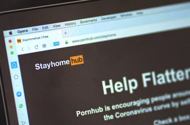"""Pornhub đổi tên thành """"StayHome Hub"""", miễn phí tài khoản Premium cho người dùng toàn cầu"""