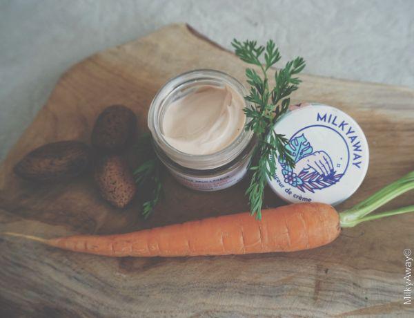 Crème visage Éblouis-Moi à l'huile de carotte et de betterave de Mady