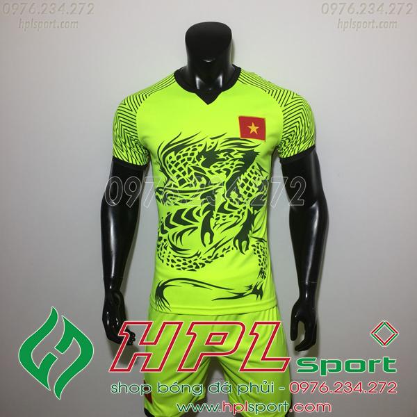 Áo bóng đá đội tuyển Việt Nam rồng xanh chuối