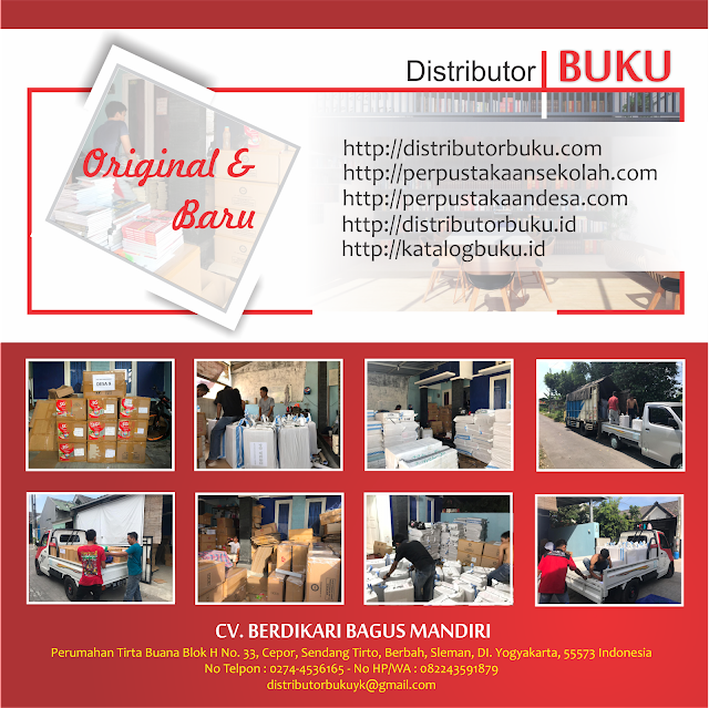 Distributor Buku Indonesia