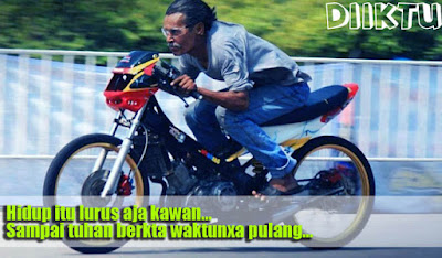 Gambar Kata DP BBM Anak Drag Racing Paling Keren