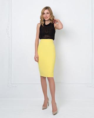 Pencil Skirt cewek cantik manis jual online