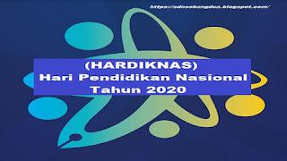Download Pedoman Peringatan Hari Pendidikan Nasional (HARDIKNAS) Tahun 2020
