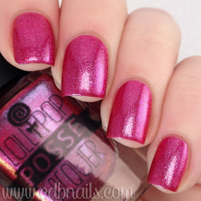 Lollipop Posse Lacquer-You Should Not Drink and Bake