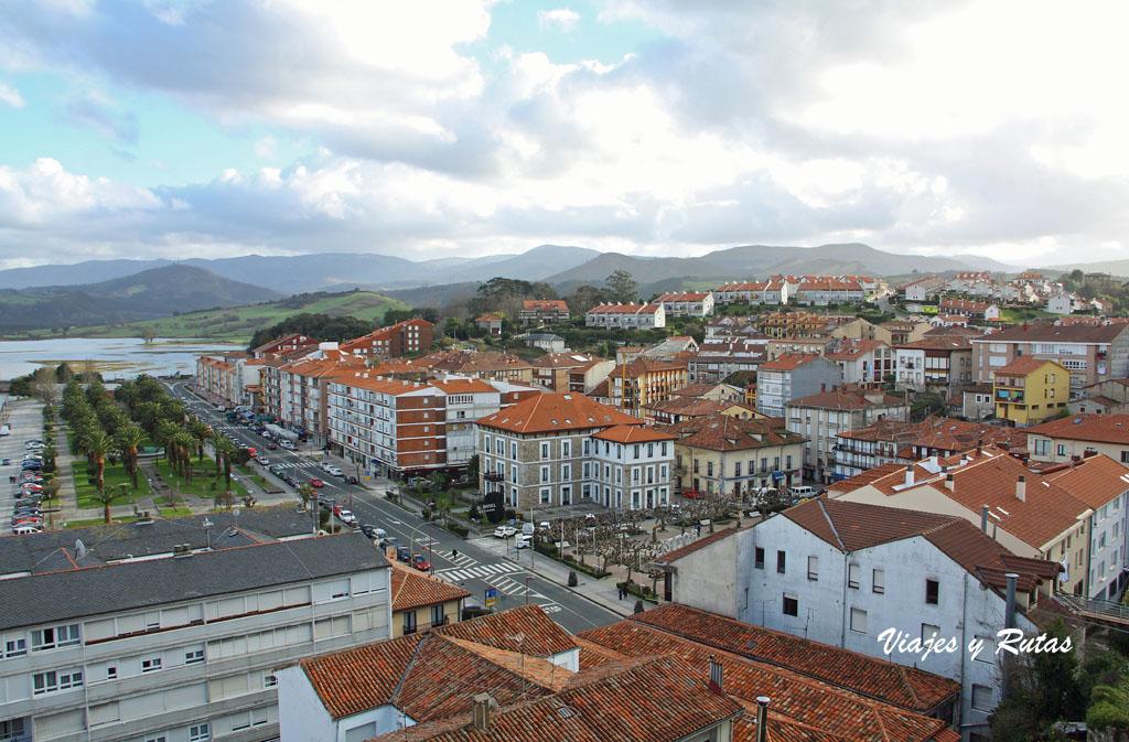 Vista General de San Vicente de la Barquera