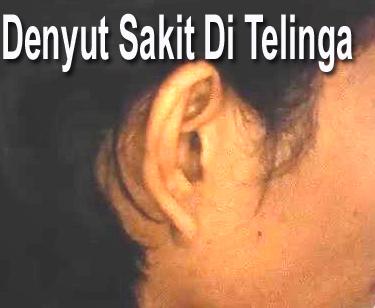 Cara Menyembuhkan Telinga Berdenyut Sakit Seperti Ditusuk