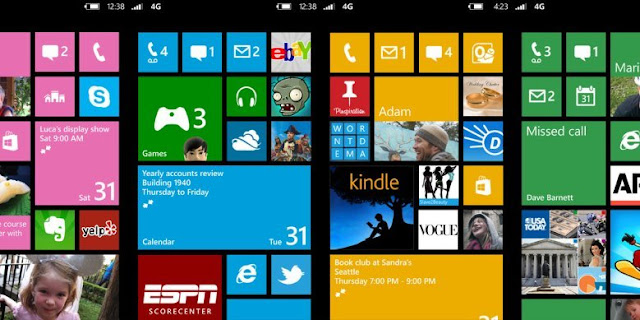 Windows Phone Screens