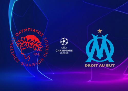 Olympiakos Piraeus vs Olympique Marseille -Highlights 21 October 2020