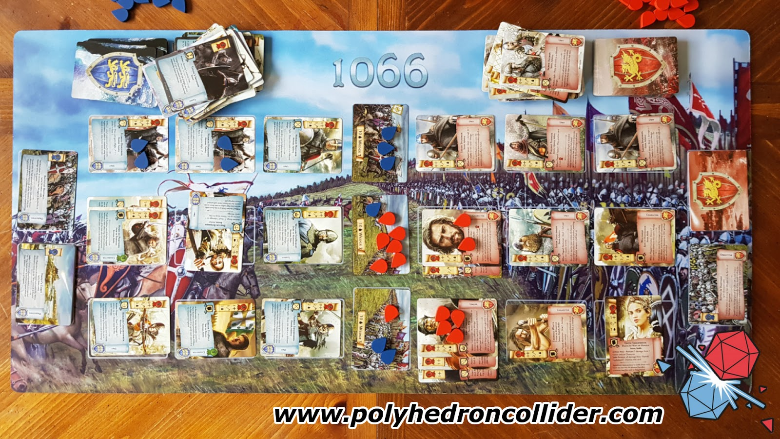 1066 Tears to Many Many Mothers Board Game Review - In Play from Above