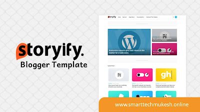 Storyify Blogger Template Free Premium Download