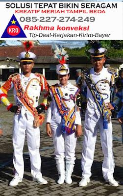 1.pakaian drumband stelan drumband baju drumband celana drumband kostum drumband topi drumband sepatu drumband putih drumband