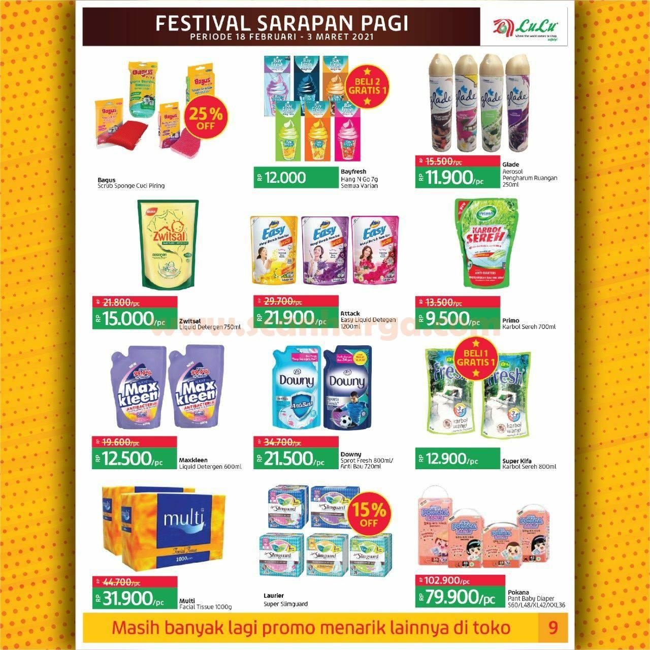 Katalog Promo LULU Supermarket 18 Februari - 3 Maret 2021 9