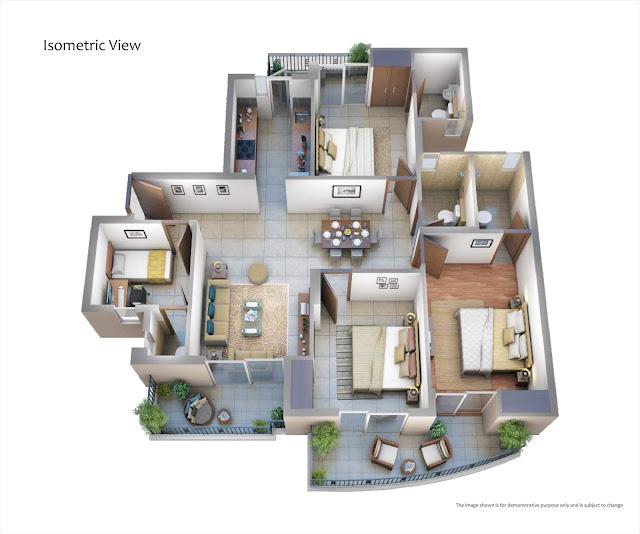 ATS Pious Hideaways Floor Plan