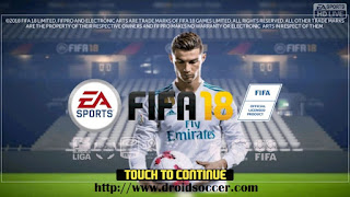 FTS Mod FIFA 18 by Riady Poetra Apk + Data Obb