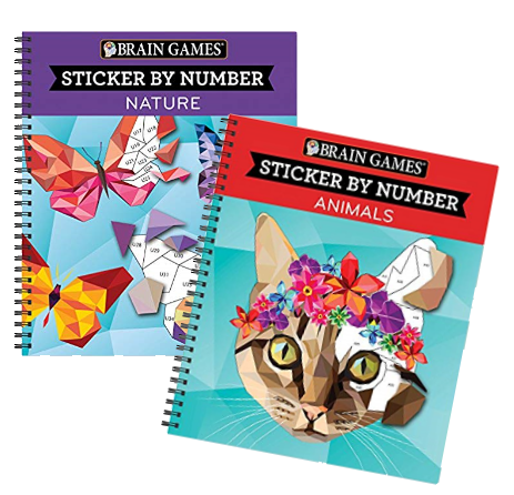 The Playful Otter Sticker By Number