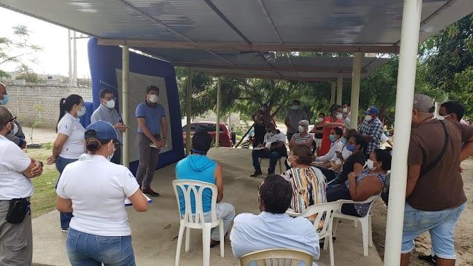 Gerente de Air-e dialoga con  dirigentes comunales de barrios en Santa Marta