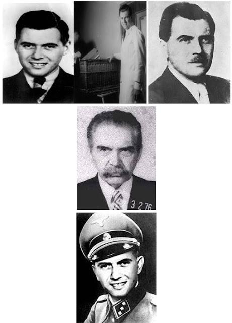 """Josef Mengele, l'""""angelo della morte"""" di Auschwitz. Sulla base del suo riuscito """"legame traumatico"""", molte delle sue vittime si sono riferite a Mengele come """"papà"""" per tutta la loro vita. Alcuni ricercatori credono che Mengele sia un Rothschild e un Illuminato"""