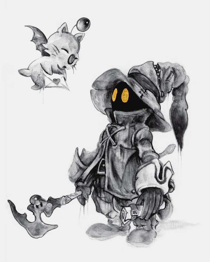 02-Vivi-Final-Fantasy-Brian-Serway-www-designstack-co