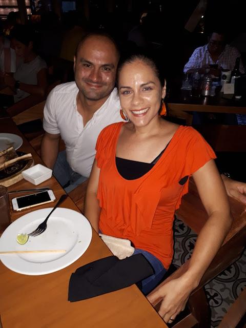 Toño Merino y Adriana Echegollén.