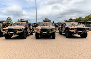 Protected Mobility Vehicle - Light (PMV-L) 'Hawkei'