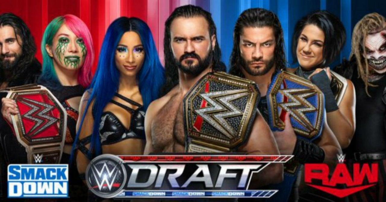 WWE Draft 2020