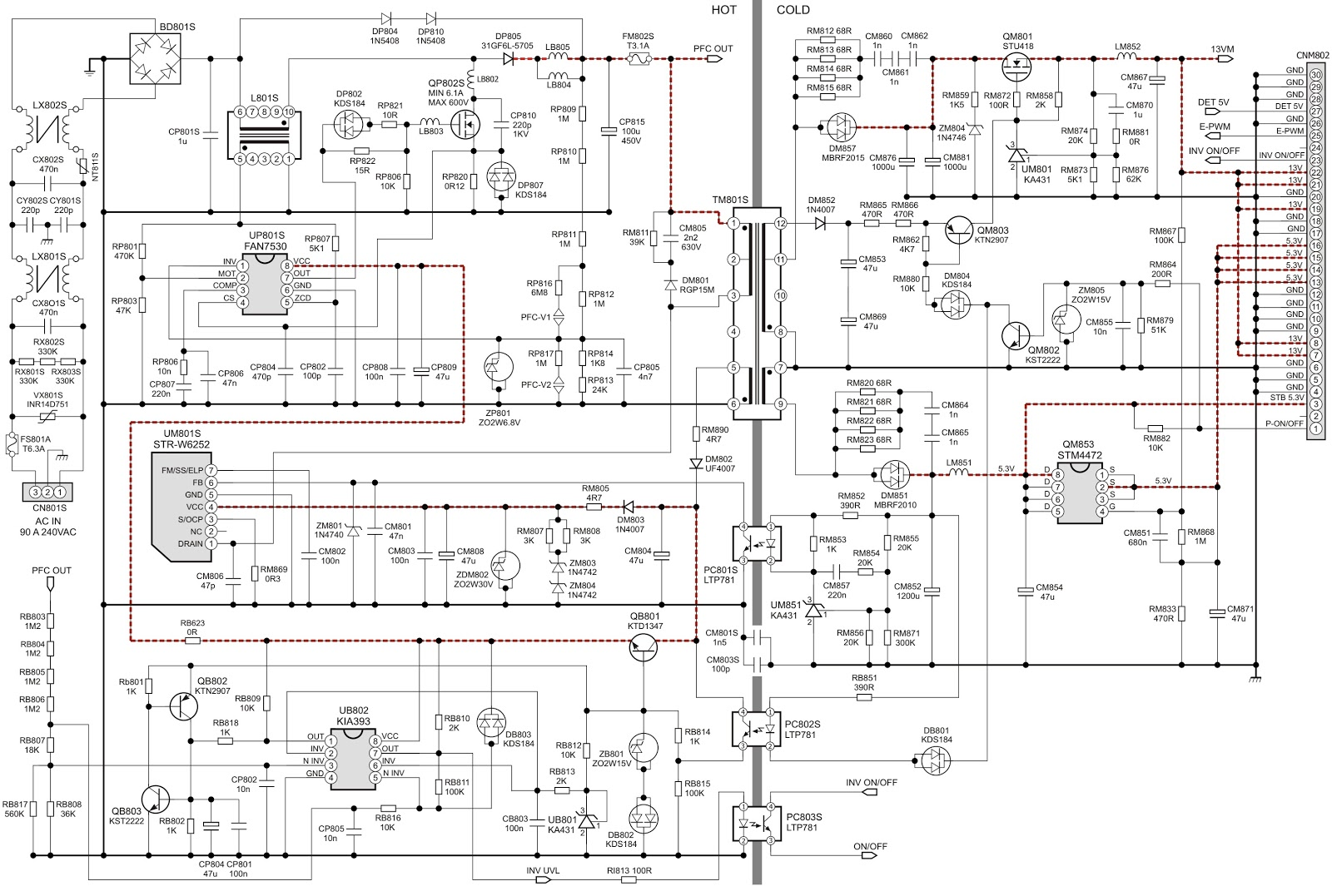 circuit diagram click on the schematics to zoom in  [ 1600 x 1077 Pixel ]