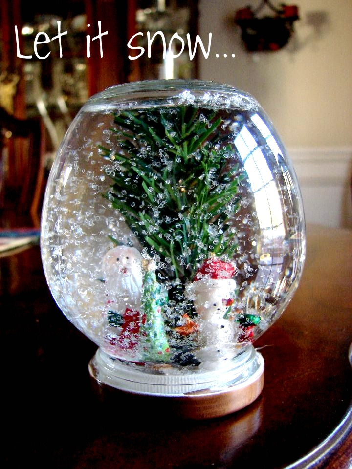 handmade globes welcome to the mad house snow globes 1442