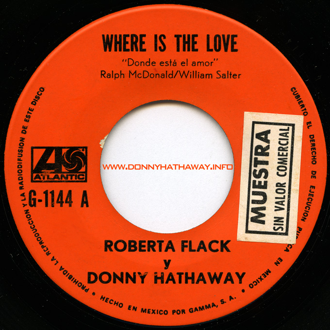 donny hathaway and roberta flack relationship