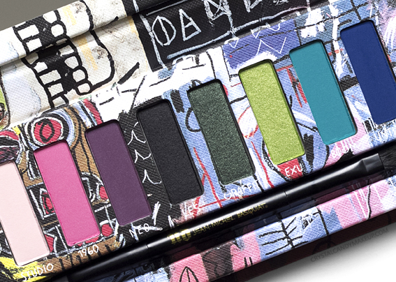 UD Jean-Michel Basquiat Urban Decay Review Tenant Eyeshadow Palette