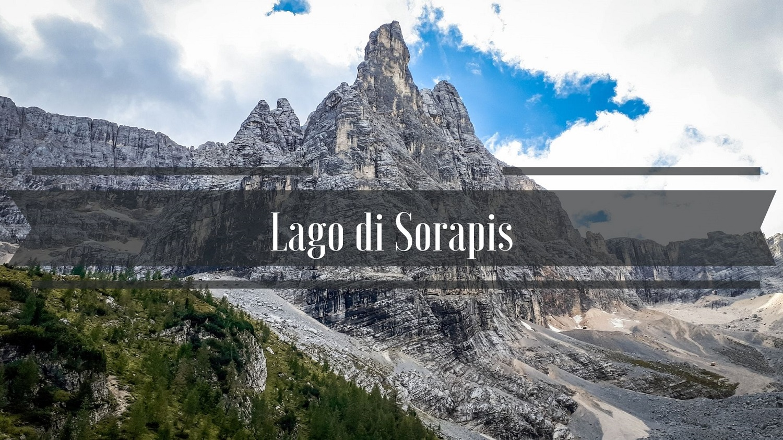 Nad jeziorem Lago di Sorapis Dolomity Szlak