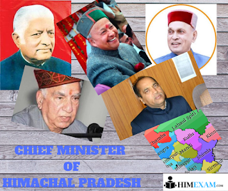 cheif minister of hp himachal pradesh