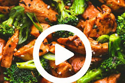 Quick & Easy 10-Minute Teriyaki Chicken & Broccoli Recipe #chicken #dinner